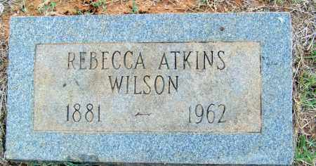 WILSON, REBECCA - Cleveland County, Arkansas | REBECCA WILSON - Arkansas Gravestone Photos