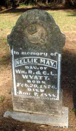 WYATT, NELLIE MAY - Cleveland County, Arkansas   NELLIE MAY WYATT - Arkansas Gravestone Photos