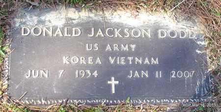 DODD (VETERAN 2 WARS), DONALD JACKSON - Cleveland County, Arkansas | DONALD JACKSON DODD (VETERAN 2 WARS) - Arkansas Gravestone Photos