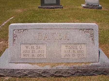 BAKER, TISHIE O - Columbia County, Arkansas | TISHIE O BAKER - Arkansas Gravestone Photos