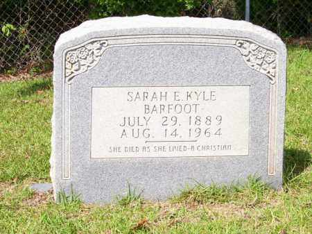 BARFOOT, SARAH E - Columbia County, Arkansas | SARAH E BARFOOT - Arkansas Gravestone Photos