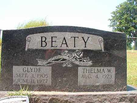 BEATY, GLYDE - Columbia County, Arkansas | GLYDE BEATY - Arkansas Gravestone Photos