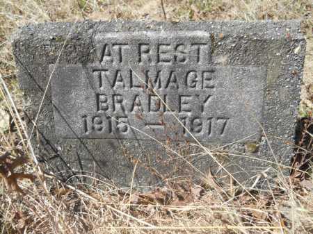 BRADLEY, TALMAGE - Columbia County, Arkansas | TALMAGE BRADLEY - Arkansas Gravestone Photos