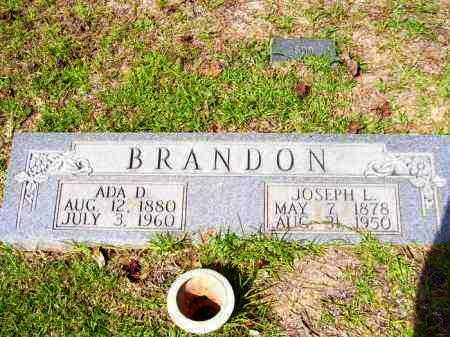 BRANDON, ADA DELLA - Columbia County, Arkansas | ADA DELLA BRANDON - Arkansas Gravestone Photos