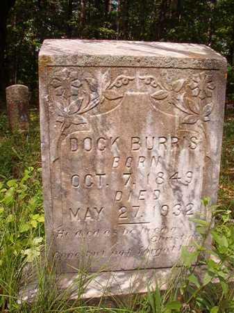 BURRIS, DOCK - Columbia County, Arkansas   DOCK BURRIS - Arkansas Gravestone Photos