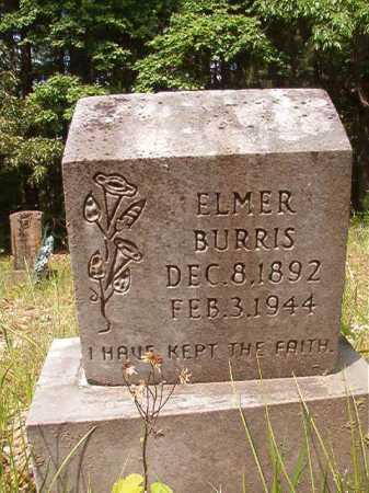 BURRIS, ELMER - Columbia County, Arkansas   ELMER BURRIS - Arkansas Gravestone Photos