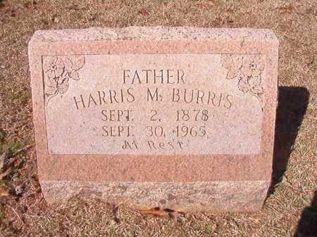 BURRIS, HARRIS M - Columbia County, Arkansas | HARRIS M BURRIS - Arkansas Gravestone Photos