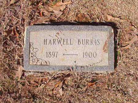 BURRIS, HARWELL - Columbia County, Arkansas | HARWELL BURRIS - Arkansas Gravestone Photos