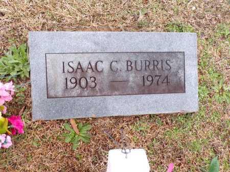 BURRIS, ISAAC C - Columbia County, Arkansas   ISAAC C BURRIS - Arkansas Gravestone Photos