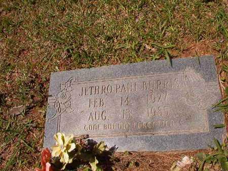 BURRIS, JETHRO PAUL - Columbia County, Arkansas   JETHRO PAUL BURRIS - Arkansas Gravestone Photos
