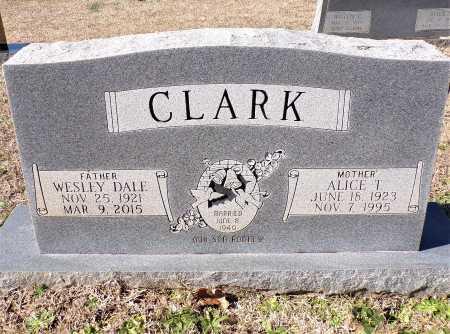 CLARK, ALICE - Columbia County, Arkansas   ALICE CLARK - Arkansas Gravestone Photos