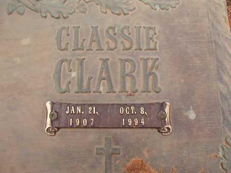 CLARK, CLASSIE - Columbia County, Arkansas   CLASSIE CLARK - Arkansas Gravestone Photos