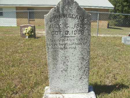 CLARK, JOHN W - Columbia County, Arkansas | JOHN W CLARK - Arkansas Gravestone Photos