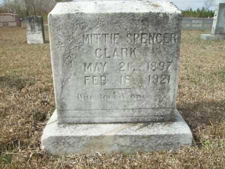CLARK, MITTIE - Columbia County, Arkansas | MITTIE CLARK - Arkansas Gravestone Photos