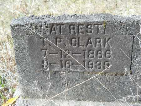 CLARK, T P - Columbia County, Arkansas | T P CLARK - Arkansas Gravestone Photos
