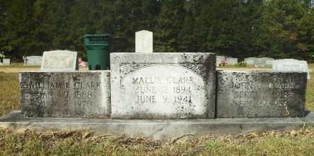 CLARK, MALLIE - Columbia County, Arkansas | MALLIE CLARK - Arkansas Gravestone Photos