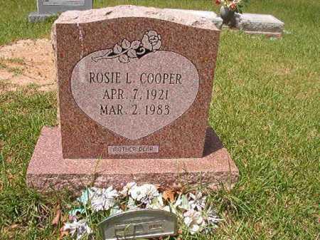 COOPER, ROSIE L - Columbia County, Arkansas | ROSIE L COOPER - Arkansas Gravestone Photos