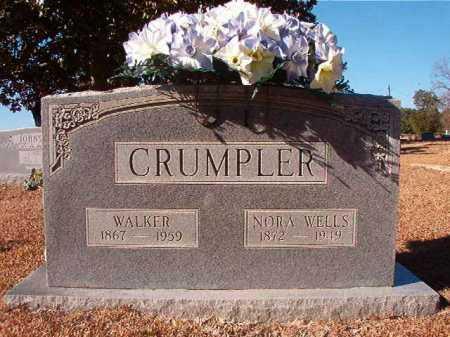 WELLS CRUMPLER, NORA - Columbia County, Arkansas   NORA WELLS CRUMPLER - Arkansas Gravestone Photos