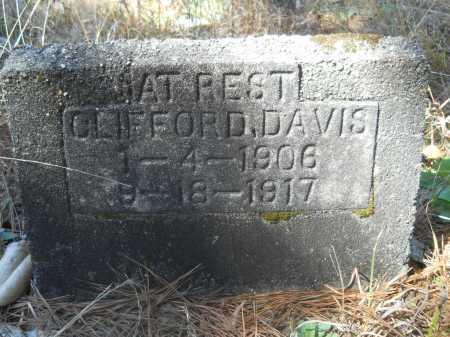 DAVIS, CLIFFORD - Columbia County, Arkansas | CLIFFORD DAVIS - Arkansas Gravestone Photos