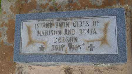 DODSON, INFANT - Columbia County, Arkansas | INFANT DODSON - Arkansas Gravestone Photos