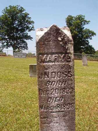 DOSS, MARY E - Columbia County, Arkansas   MARY E DOSS - Arkansas Gravestone Photos
