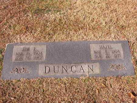 DUNCAN, HAZEL - Columbia County, Arkansas | HAZEL DUNCAN - Arkansas Gravestone Photos