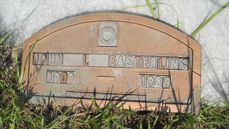 EASTERLING, JOHN L - Columbia County, Arkansas | JOHN L EASTERLING - Arkansas Gravestone Photos