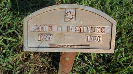 EASTERLING, JOHN D - Columbia County, Arkansas   JOHN D EASTERLING - Arkansas Gravestone Photos