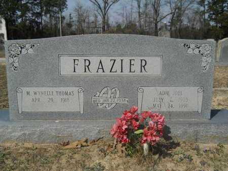 FRAZIER, ADIE JOEL - Columbia County, Arkansas | ADIE JOEL FRAZIER - Arkansas Gravestone Photos