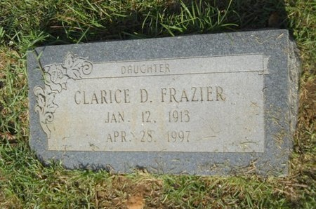 FRAZIER, CLARICE - Columbia County, Arkansas | CLARICE FRAZIER - Arkansas Gravestone Photos