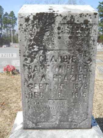 FRAZIER, CLAUDIE - Columbia County, Arkansas   CLAUDIE FRAZIER - Arkansas Gravestone Photos