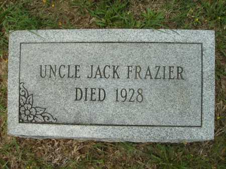 FRAZIER, JACK - Columbia County, Arkansas | JACK FRAZIER - Arkansas Gravestone Photos