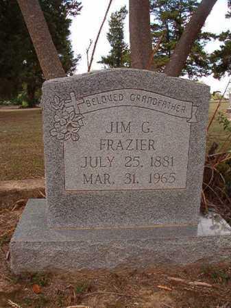 FRAZIER, JIM G - Columbia County, Arkansas | JIM G FRAZIER - Arkansas Gravestone Photos