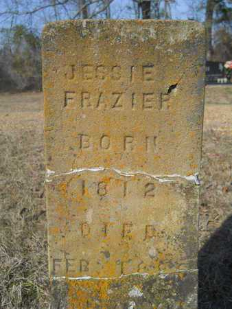 FRAZIER, JESSIE - Columbia County, Arkansas | JESSIE FRAZIER - Arkansas Gravestone Photos