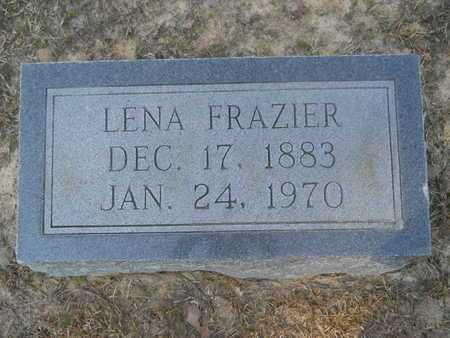 FRAZIER, LENA - Columbia County, Arkansas   LENA FRAZIER - Arkansas Gravestone Photos
