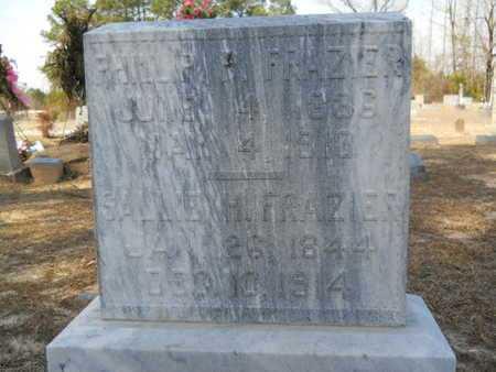 FRAZIER, SALLIE - Columbia County, Arkansas | SALLIE FRAZIER - Arkansas Gravestone Photos