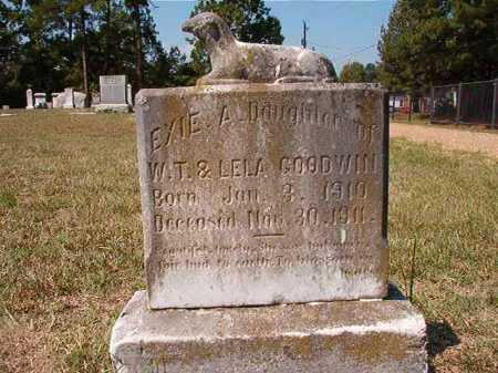 GOODWIN, EXIE A - Columbia County, Arkansas   EXIE A GOODWIN - Arkansas Gravestone Photos
