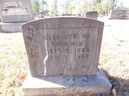 GOODWIN, ELLA LORENA - Columbia County, Arkansas   ELLA LORENA GOODWIN - Arkansas Gravestone Photos