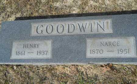 GOODWIN, NARCE - Columbia County, Arkansas   NARCE GOODWIN - Arkansas Gravestone Photos