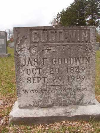 GOODWIN, JAMES F - Columbia County, Arkansas | JAMES F GOODWIN - Arkansas Gravestone Photos