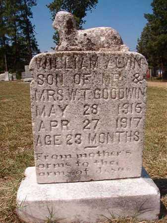 GOODWIN, WILLIAM ALVIN - Columbia County, Arkansas | WILLIAM ALVIN GOODWIN - Arkansas Gravestone Photos