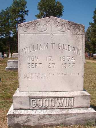 GOODWIN, WILLIAM T - Columbia County, Arkansas | WILLIAM T GOODWIN - Arkansas Gravestone Photos