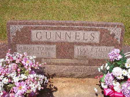 GUNNELS, ROBERT TOOMIE - Columbia County, Arkansas | ROBERT TOOMIE GUNNELS - Arkansas Gravestone Photos