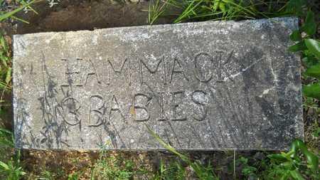 HAMMACK, BABY - Columbia County, Arkansas | BABY HAMMACK - Arkansas Gravestone Photos