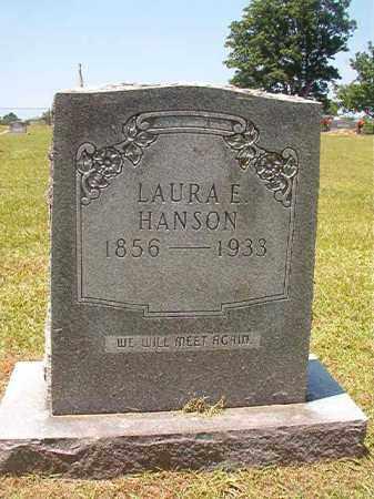 HANSON, LAURA E - Columbia County, Arkansas | LAURA E HANSON - Arkansas Gravestone Photos