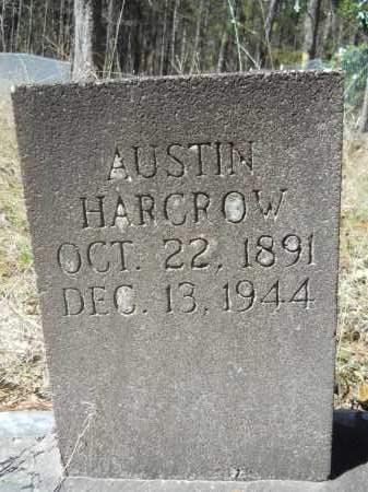 HARCROW, AUSTIN - Columbia County, Arkansas   AUSTIN HARCROW - Arkansas Gravestone Photos