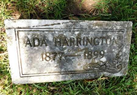 HARRINGTON, ADA - Columbia County, Arkansas | ADA HARRINGTON - Arkansas Gravestone Photos