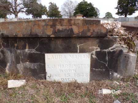 HARRINGTON, LAURA (CLOSEUP) - Columbia County, Arkansas | LAURA (CLOSEUP) HARRINGTON - Arkansas Gravestone Photos