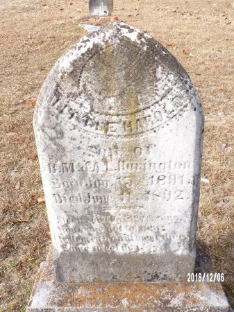 HARRINGTON, HAROLD - Columbia County, Arkansas | HAROLD HARRINGTON - Arkansas Gravestone Photos