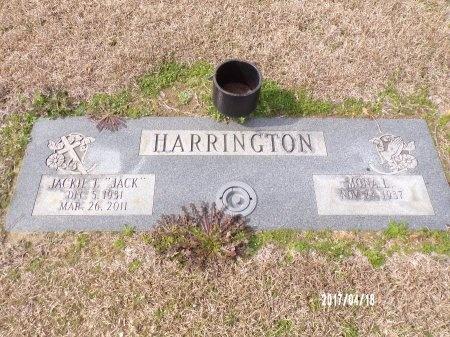 "HARRINGTON, JACKIE T ""JACK"" - Columbia County, Arkansas | JACKIE T ""JACK"" HARRINGTON - Arkansas Gravestone Photos"